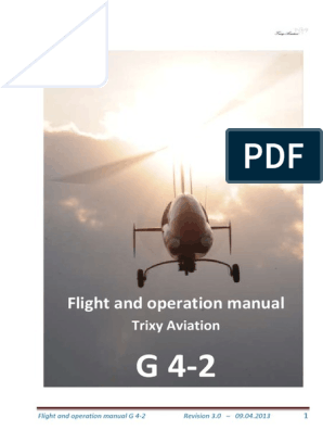 Flight and Operation Manual for Gyrocopter Rev 3 0 | Landing Gear