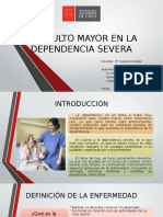 El Adulto Mayor en La Dependencia Severa