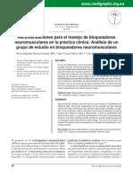 Bloqueadores Neuromusculares Usos Clínicos 13 Oct 2015