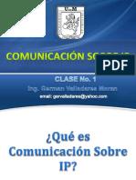 Comunicacion Sobre IP - Clase 01