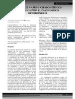 analisis cefalometrico