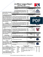 8.14.16 Minor League Report