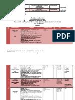 Planificare Calendaristica Limba Engleza Clasa Pregatitoare Plus Programa