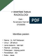 Presentasi kasus. radiologi