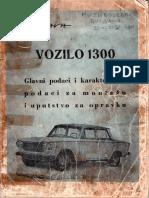 Zastava 1300 Uputstvo Za Opravku XI 1961