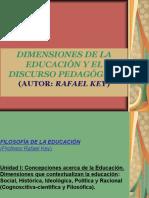 Dimensiones Educación-discurso Pedagógico(2)(1)