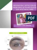 Problemas Visuales - Juana