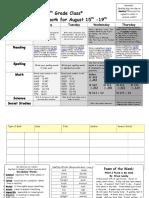 homework sheet 8-15 8-19-16