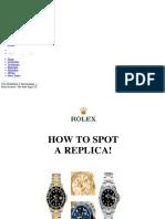 Rolex Science