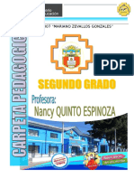 Carpeta Pedagogica 2do 2016