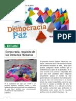 Democracia y Paz 2