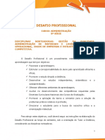 Desafio Profissional - Administração8ª Semestre