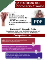 Angina Estable o Síndrome Coronario Crónico