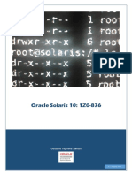 Oracle Solaris 10 1Z0-876