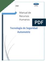 Manual de Recursos Humanos Tecnología de Seguridad
