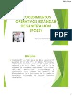 Procedimientos Operativos Estándar de Sanitizacion (Ssop)