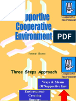 Supportive Cooperative Environment
