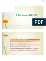 7 Principios HACCP