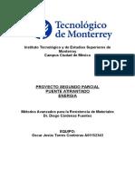 Proyecto Metodos Avanzados Resistencia de Materiales (PUENTE ATIRANTADO)