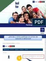Participacion_en_grupos de Foro_asesoria a Distancia