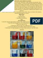 Experimentos de Mezcla de Colores