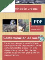 Contaminación de suelo , aire y agua  por.pptx Trabajo de historia diferenciado.pptx