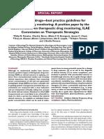 Antiepileptic Drugs Monitoring