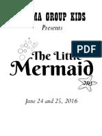Little Mermaid Shirt Logo