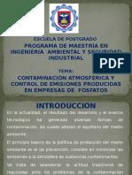 Contaminación y Control de Emisiones_Fosfatos