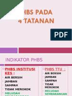 PHBS 4 TATANAN