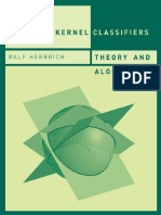 Ralf Herbrich Learning kernel classifiers. Theory and algorithms 2001ã. 382ñ. ISBN ISBN10 026208306X.pdf