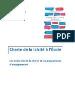mots cles de la charte et programmes d enseignements 270064