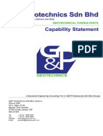 G&P Geotechnics Sdn Bhd-Company Profile