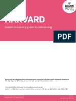 Deakin Guide to Harvard