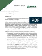 Carta en respuesta al comunicado del Rector sobre los ayudantes de catedra 270510