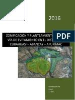 Zonificacion Urbana - Curahuasi