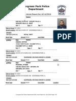 Evergreen Park Arrests Aug. 4 - Aug. 11, 2016