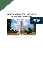 Basílica Menor Jesús Nazareno de Atalaya