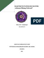 Laporan Praktikum Patklin Eritrosit-1