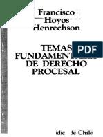 Hoyos, Francisco Temas Fundamentales de Derecho Procesal.pdf