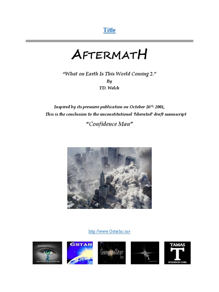 The Ebook Aftermath Pdf Copyright License
