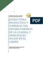 ESTRUCTURA PRODUCTIVA Y COMERCIO DEL DEPARTAMENTO DE LA GUAJIRA