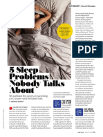5 Sleep Problem