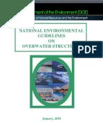 OverWater Environmental Guidelines Jan 2010 Final Version