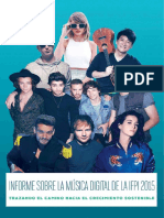 Digital Music Report 2015 Spanish