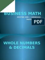 Business Math 1