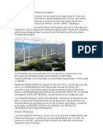 Central Eólica Eléctrica Villonaco