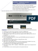 HD-521P-A Multimedia_Converter(Aluminum Panel) Catalog(en)