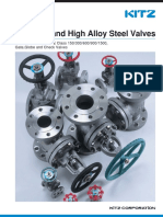 Ss High Alloy Steelvalves