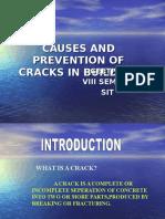 Cracks in Building